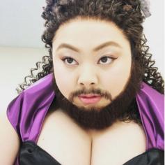 キアラセトルと渡辺直美が似てる!グレイテスト・ショーマンヒゲ女画像あり!